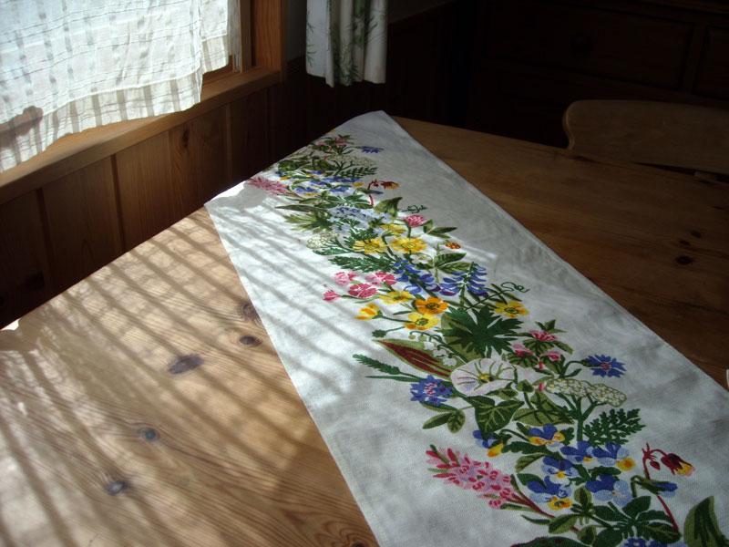リネン 野の花